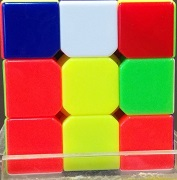 Rubik's Cube Solver Project Picture